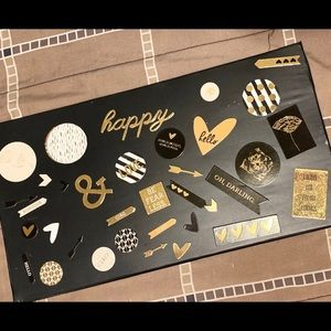 """38 PIECE """"LOVE"""" THEMED CHIPBOARDS for Scrapbooking"""